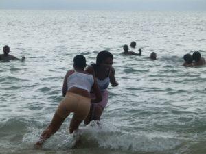 2014 WITH WHOLE STAFF TO PANGANI BEACH